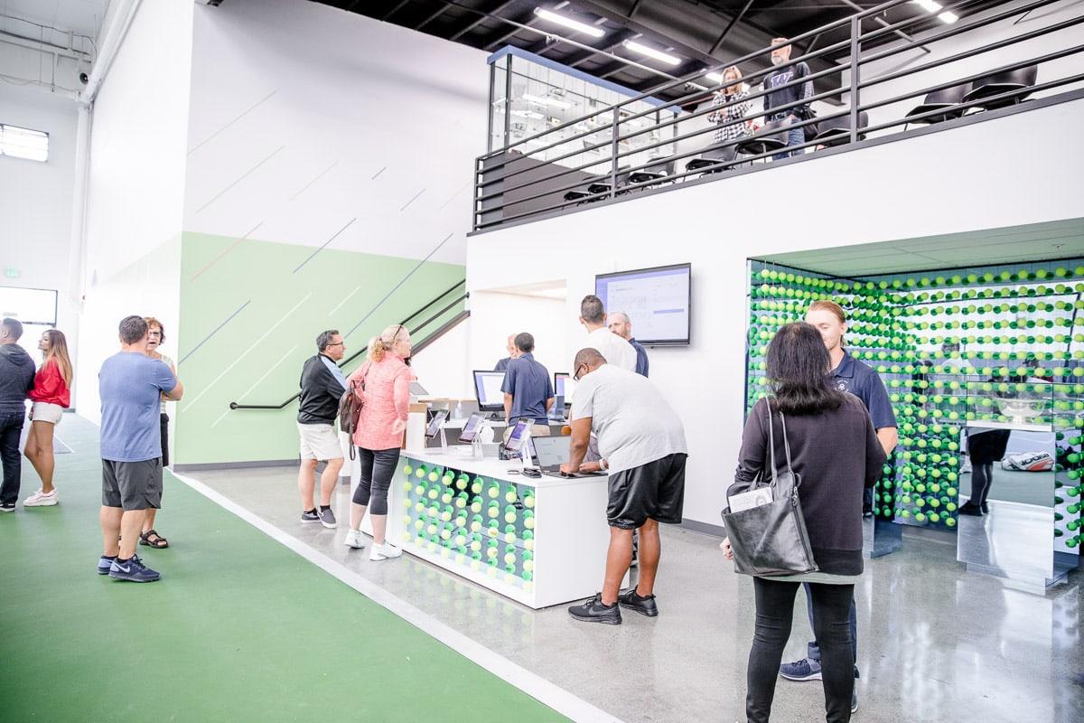 Galbraith Tennis Center lobby