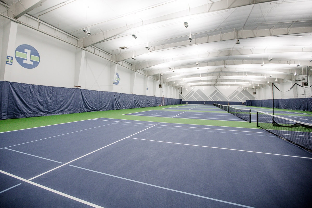GTC indoor tennis courts Tacoma