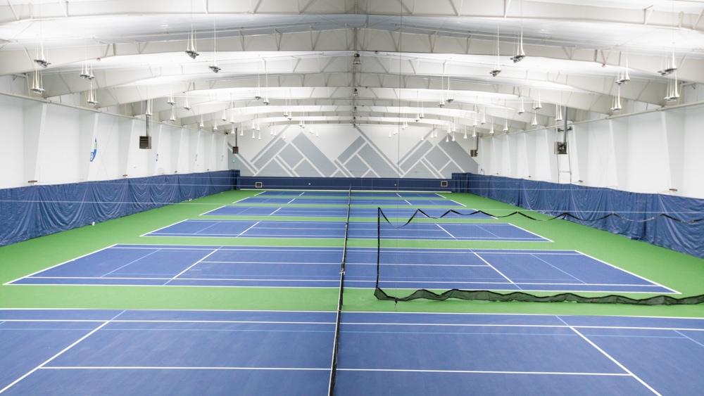 Galbraith Tennis Center indoor courts