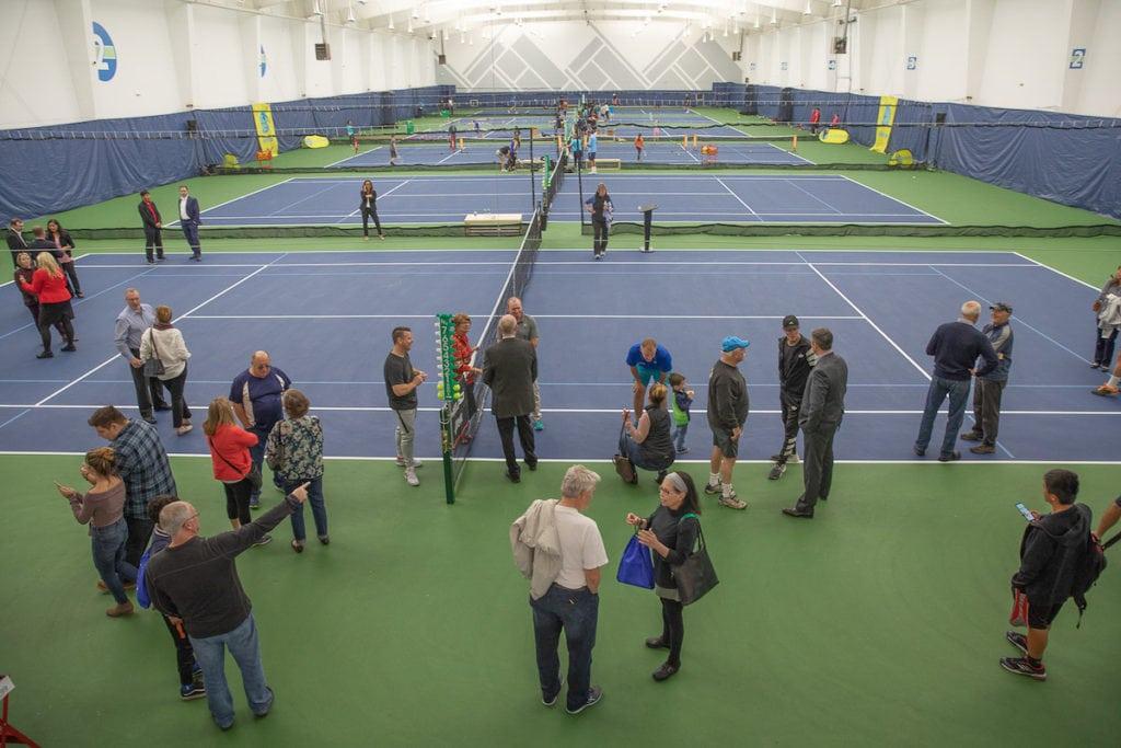 Galbraith Tennis Center ceremony in Tacoma WA