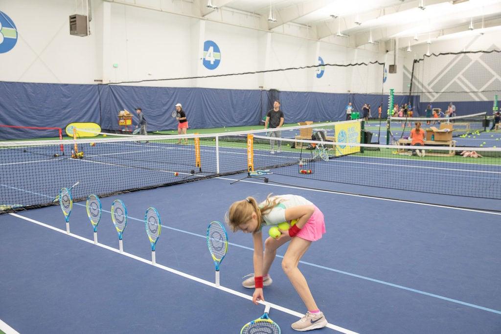 kids tennis at Galbraith Tennis Center