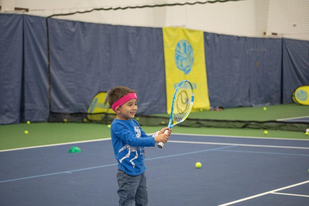 Net Generation kids court Galbraith Tennis Center