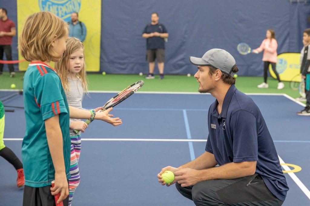 tennis lesson request Vancouver Tennis Center