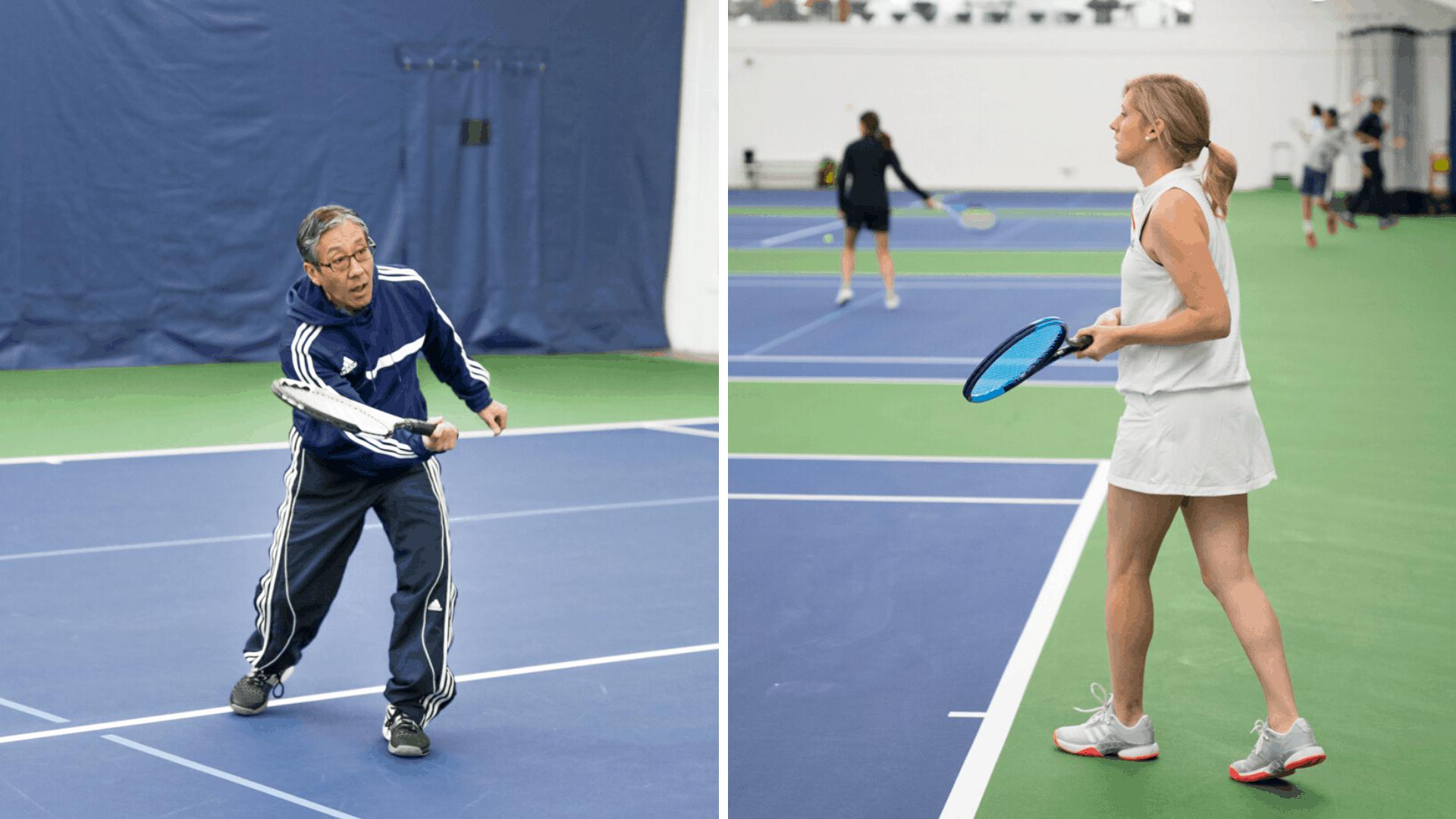 Vancouver Tennis Center Adult Spring Break Camp Website Banner
